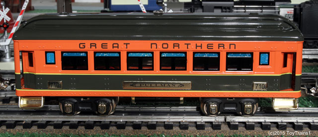 Lionel tinplate 710 coach car