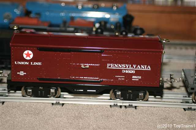 standard gauge boxcar