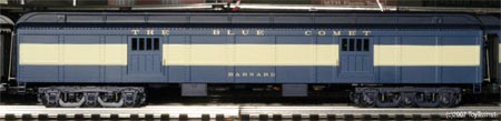 Blue Comet Baggage Car