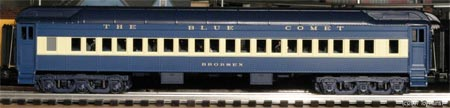 Blue Comet Coach Car