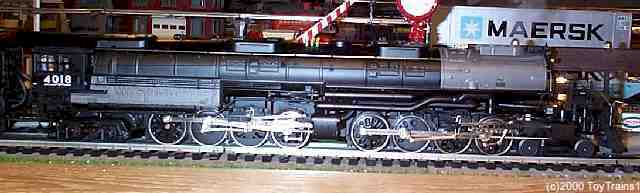 MTH scale UP Big Boy