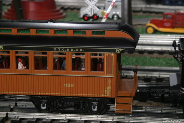 woodsided passenger car