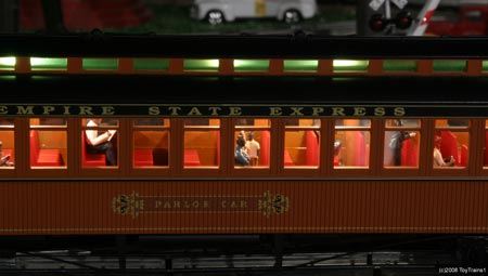 mth woodsided passenger car