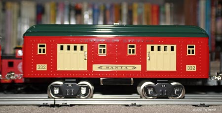 standard gauge baggage car