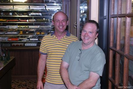 Bob and Andy at MTH