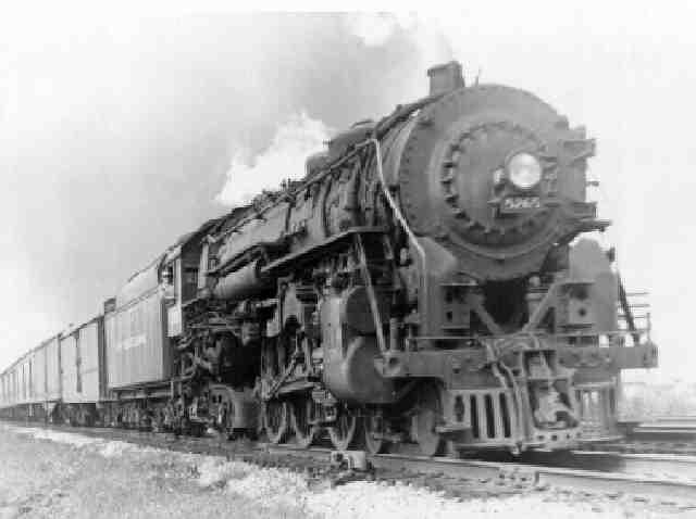 4-6-4 Hudson Henry Dreyfuss Train