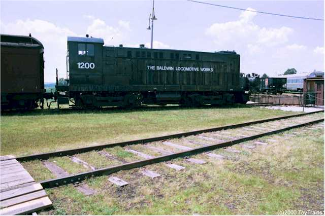 Baldwin diesel switcher